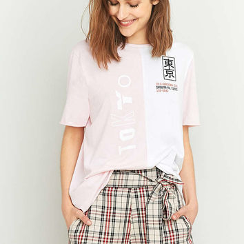 BDG Tokyo Splice T-shirt - Urban Outfitters