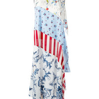 Antonio Marras Patchwork Maxi Dress - Farfetch