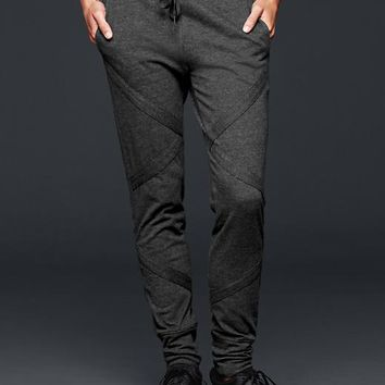 Gap Gapfit Studio Fleece Moto Pants
