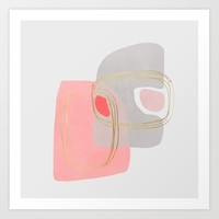 Modern minimal forms 47 Art Print by naturalcolors