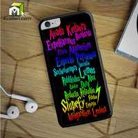 Harry Potter Movie Magic Spelling Quotes iPhone 6S Plus Case by Avallen