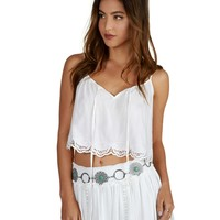 Boho Mint Chain Belt