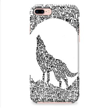 Florence and The Machine Wolf iPhone 8 | iPhone 8 Plus Case