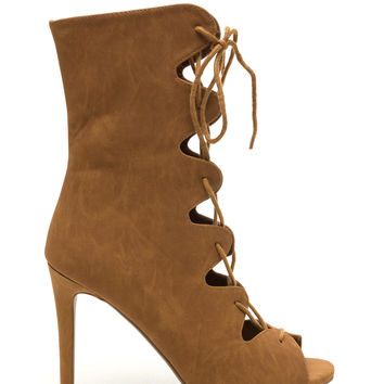 Wave New World Cut-Out Boots