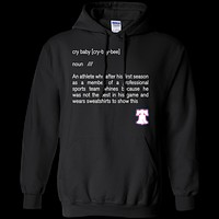 Donovan Mitchell Cry Baby Pullover Hoodie