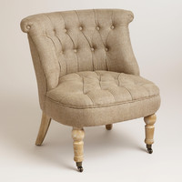 Flax Vanity Chair - World Market