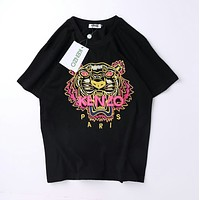 Kenzo Men Fashion Casual Sports Shirt Top Tee