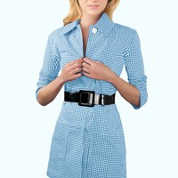 Gingham Jacket - Gingham - Side
