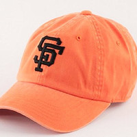 San Francisco Giants MLB New Raglin Cotton Twill Distressed Screen Printed Cap