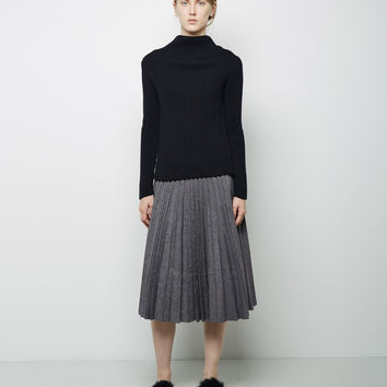 Fan Pleat Skirt by J.W. Anderson