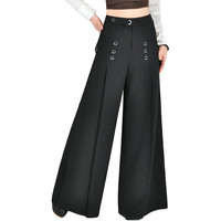 High waist women pants for professional ladies
