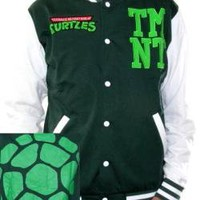 ROCKWORLDEAST - Teenage Mutant Ninja Turtles, Varsity Jacket, Shell