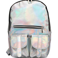 HOLOGRAPHIC SAINT BACKPACK – tibbs & BONES