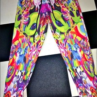 SWEET LORD O'MIGHTY! LISA FRANK SWEATPANTS