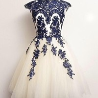 Lovely Tulle Cocktail Dresses/Homecoming Dresses