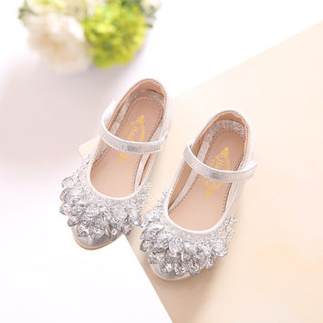 Winter Princess Dress Shoes - Silver