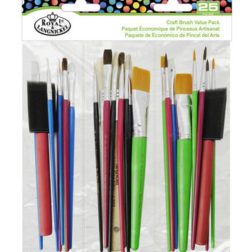 Royal & Langnickel® Craft Brush Value Pack 25pk | JOANN