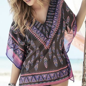 Sheer Dream Catcher Cover-Up