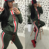 Gucci Snake Sportswear Two Pieces