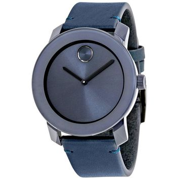 Movado Bold Blue Dial Watch 3600370