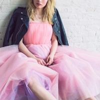 Betsey Johnson Vintage For UO Becca Strapless Tulle Dress - Urban Outfitters