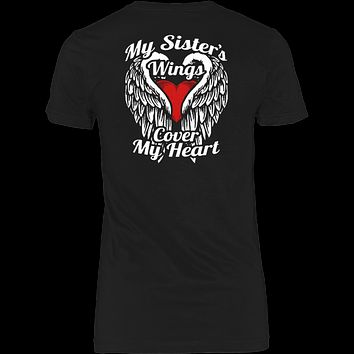 My Sister's Wings Cover My Heart T-shirt