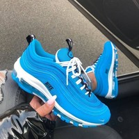 Nike Air Max 97 Premium Blue Sneakers