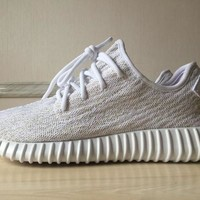 ALL White 350 Boost sneakers 1:1 running Shoes Kanye West boost 350 sports shoes