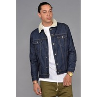 Raw Denim Borg Lined Jacket
