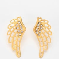 Urban Outfitters - Angel Wings Earring