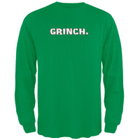 Grinch Green Adult Long Sleeve T-Shirt