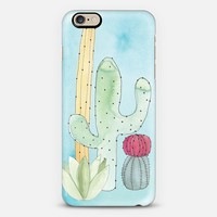CACTUS iPhone 6s case by PetiteSoupDesigns | Casetify