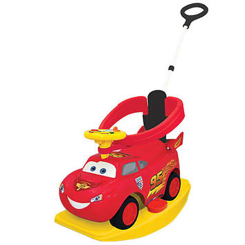 Disney Pixar Cars 2 - 4-in-1 Ride On - Lightning McQueen - KiddieLand - 3 - 4 Years - FAO Schwarz®