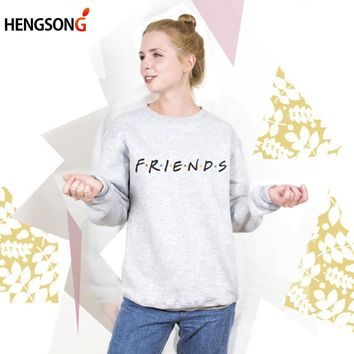 Skateboarding Friends Letter Hoodies Women Sportswear Women Gym Yoga Fitness Hoodies Sportswear Harajuku Hoody Jacket Female