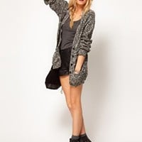 ASOS Studded Boyfriend Cardigan at asos.com