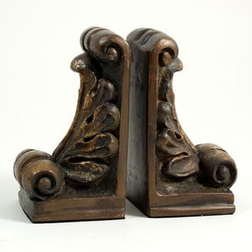 Bey-Berk Fleur de Lis Book Ends & Reviews | Wayfair