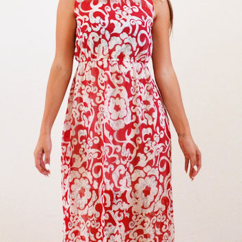 Summer Time Maxi Floral Modest Dress