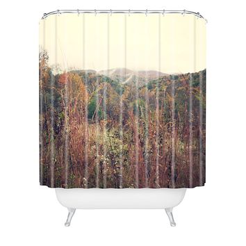 Catherine McDonald Autumn In Appalachia Shower Curtain