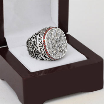 Crimson Tide Championship Ring 2012 Replica NCAA Alabama College Football National Rings Fashio