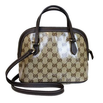 Gucci Crossbody Mini Dome Convertible Satchel Bag 341504