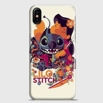 Disney Lilo and Stitch iPhone X Case | casescraft