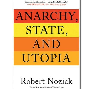 Anarchy State and Utopia Paperback Book