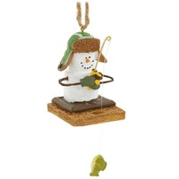 S'mores Ice Fisherman Ornament