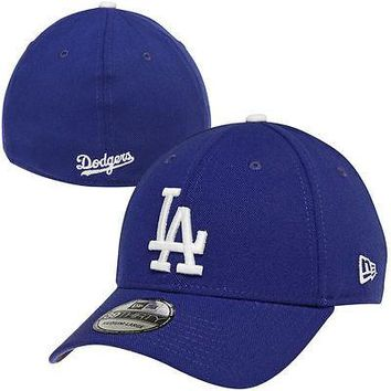 Los Angeles Dodgers LA New Era 39THIRTY Team Classic Stretch Fit Flex Cap Hat