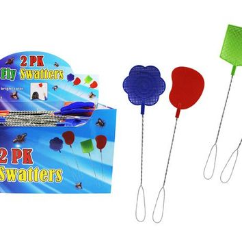 2-Pack Fly Swatters - CASE OF 36