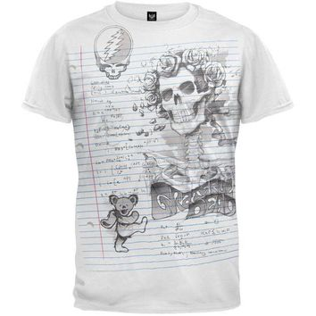 DCCKU3R Grateful Dead - Sketch Soft T-Shirt