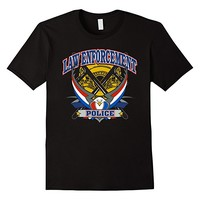 Police Officer T-shirt - Patriotic Men Women Youth Sizes