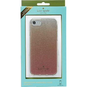 Kate Spade New York Glitter Ombre iPhone 7 / 8 Case, Pink Glitter, iPhone 7