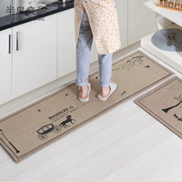 50X80CM+50X160CM Set Doormat Non-Slip Kitchen Carpet Bath Mat Home Entrance Floor Mat Hallway Area Rugs Kitchen Mat