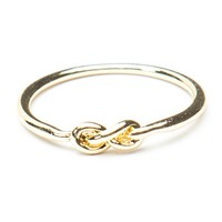 Brandy ♥ Melville |  Gold Knot ring - Accessories
